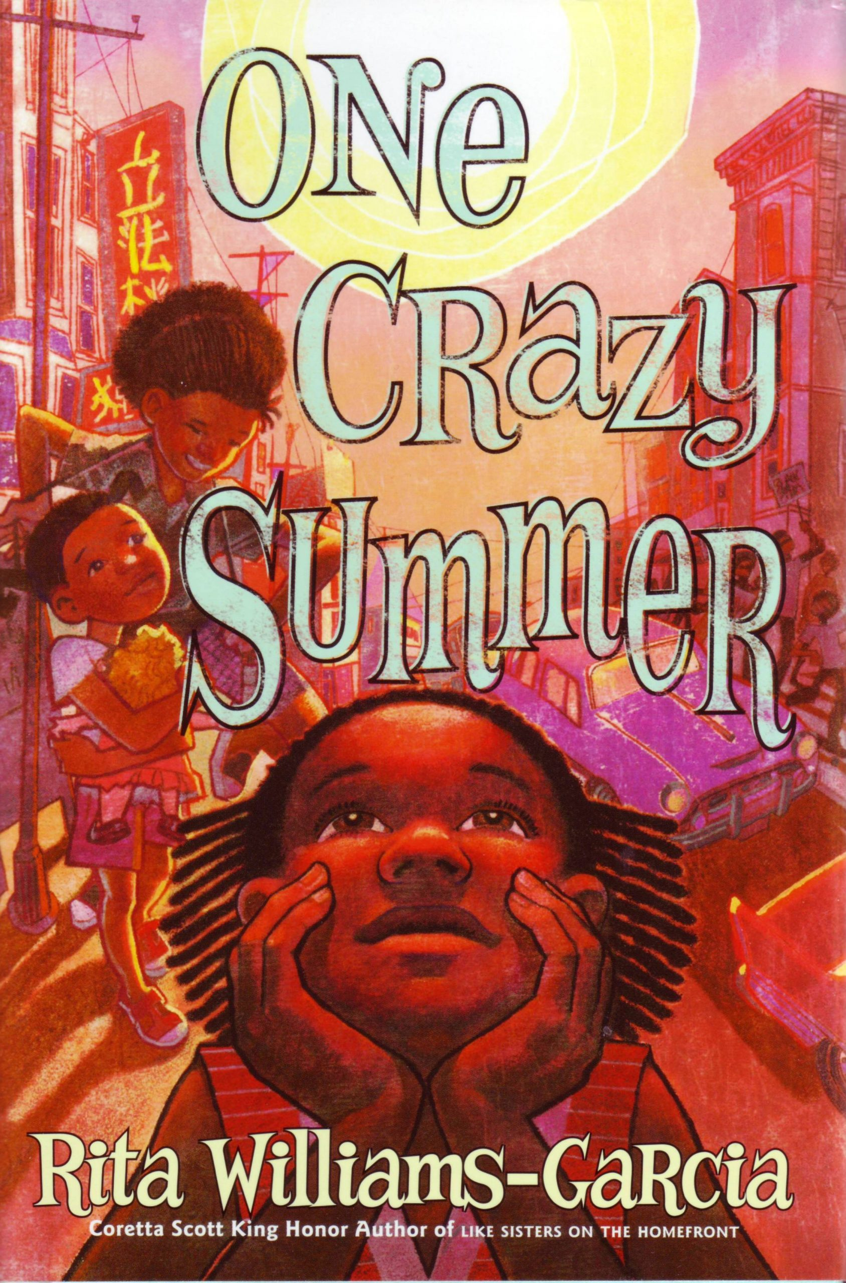 road trip audiobooks: One Crazy Summer