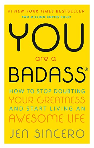 self help books: You are a Badass