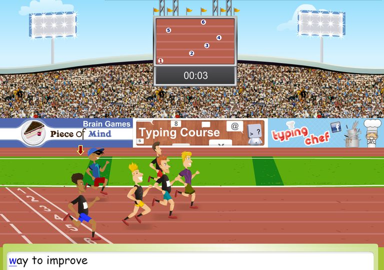 Typing Olympics