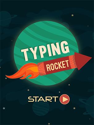 Typing Rocket Junior