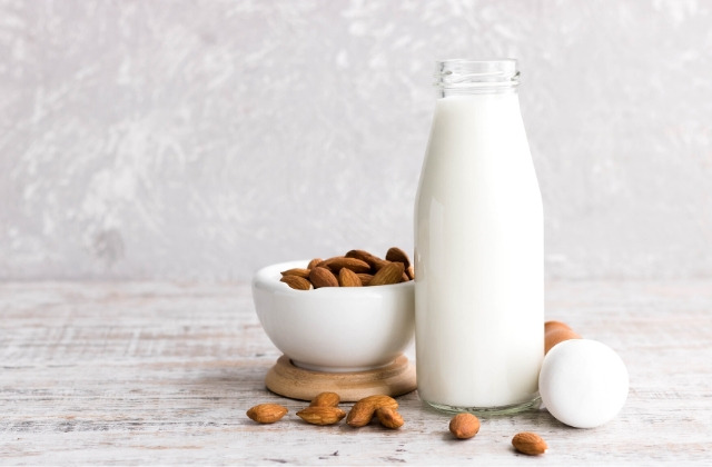 almond milk during pregnancy
