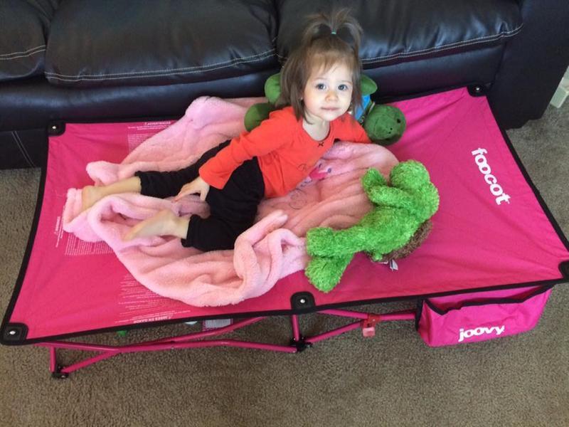 Toddler travel bed: Joovy Foocot Child Cot