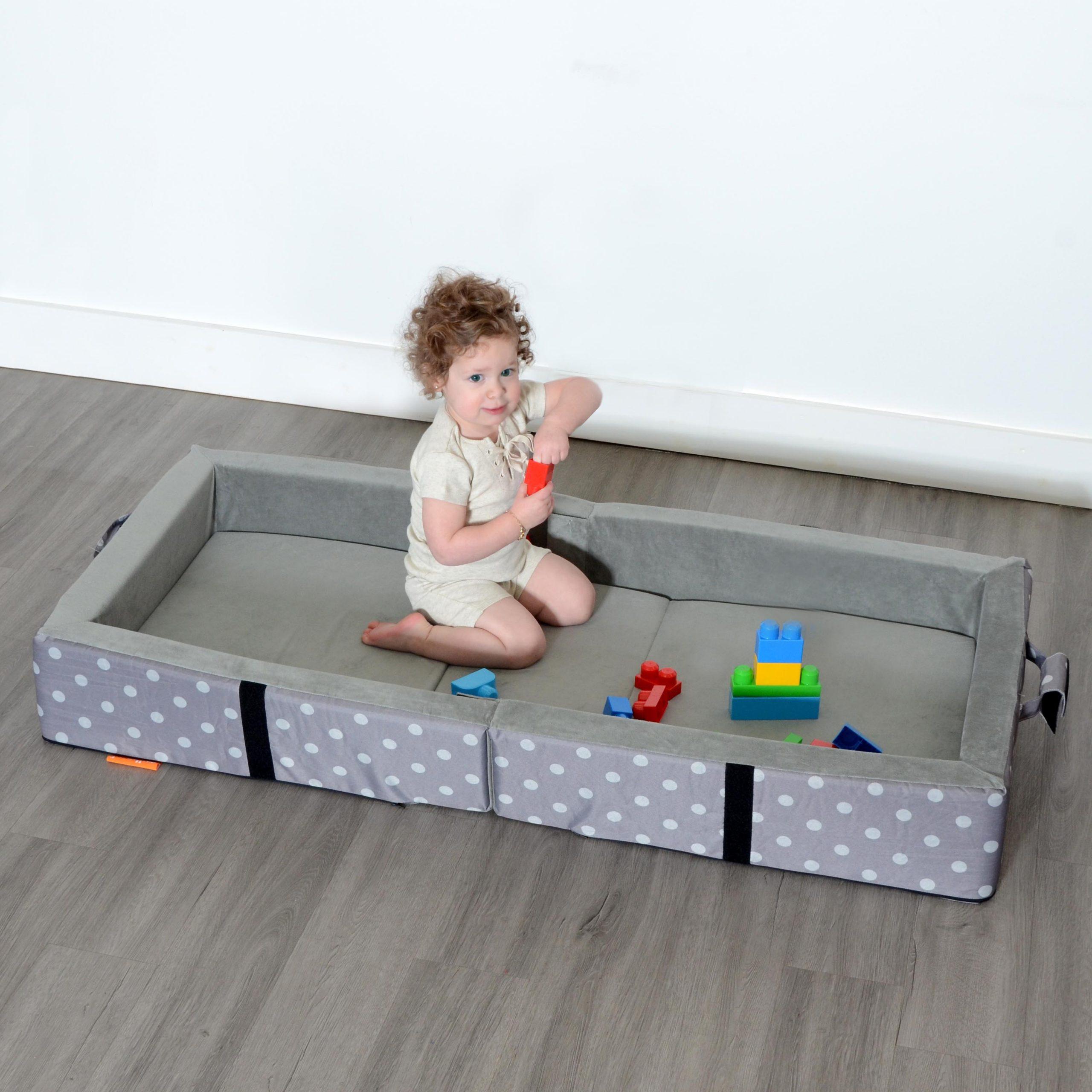 Milliard Portable Toddler Bumper Bed