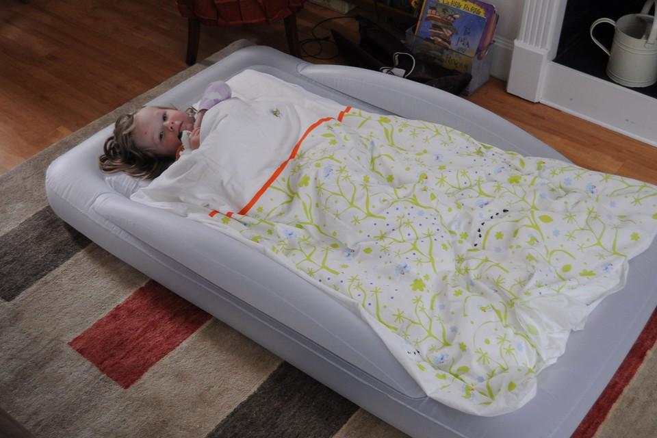 The Shrunks Indoor Tuckaire Toddler Travel Bed