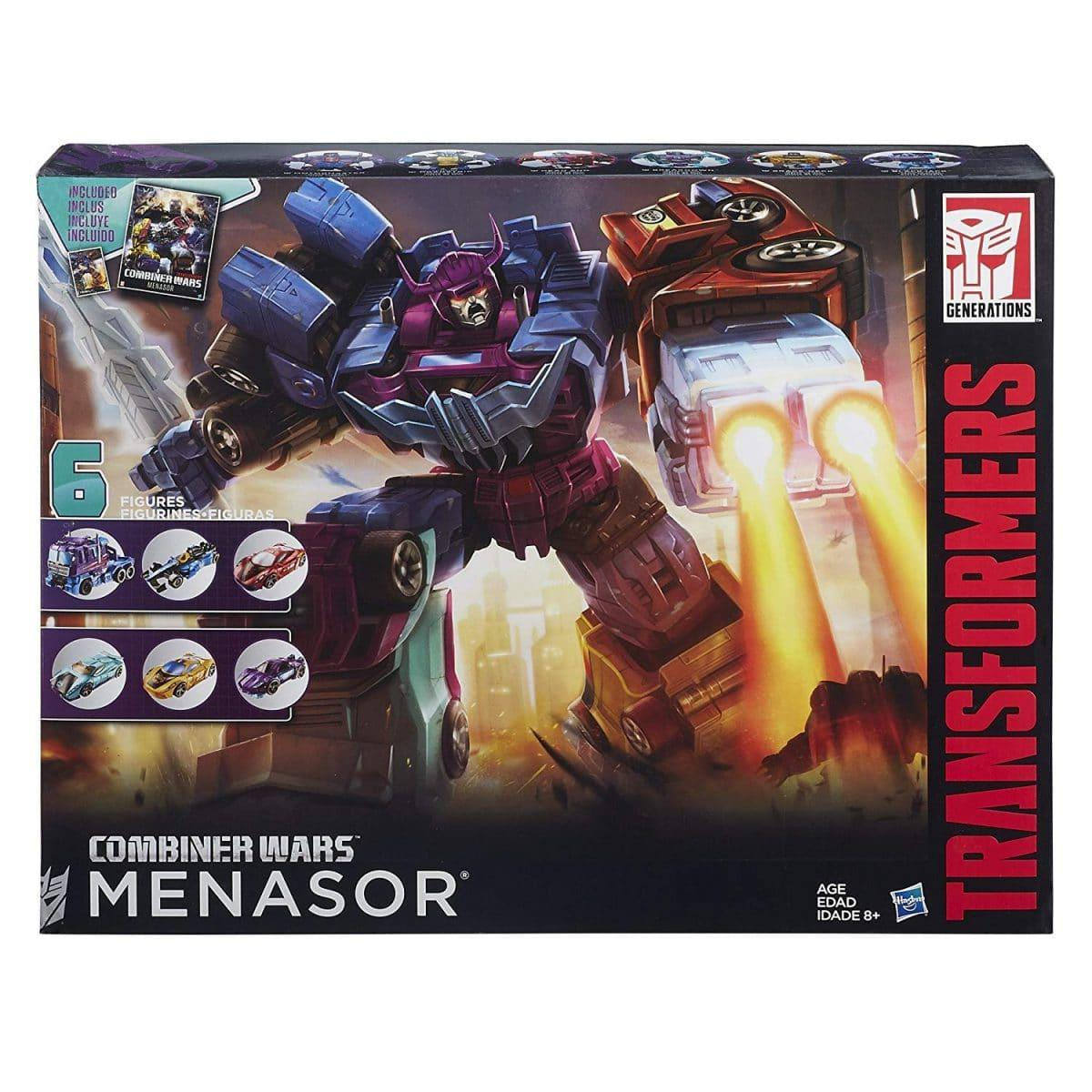 Transformers Generations Combiner Wars Mensor Collection Pack