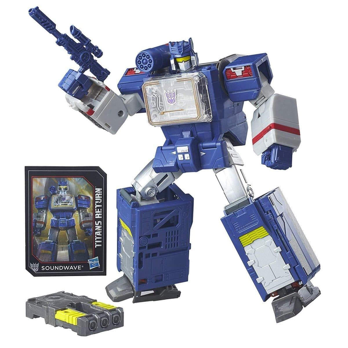 Transformers Generations Titans Return Soundwave