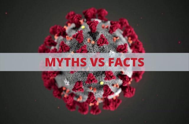 myths about coronavirus