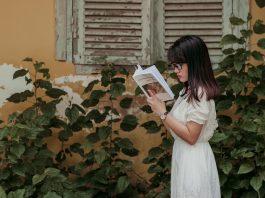 Teen Reading Book