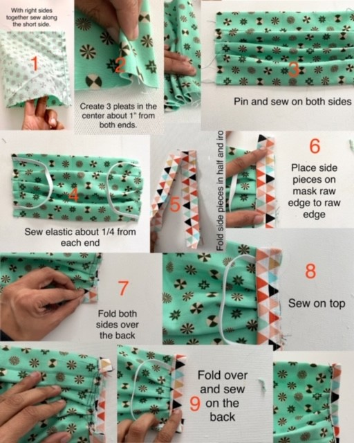 DIY Face Mask (Sewing Required)
