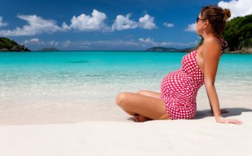 tanning while pregnant