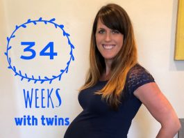 34 Weeks Pregnant with Twins