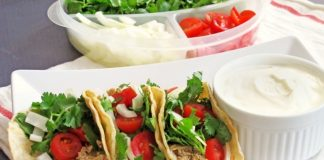 Chicken and Corn Tacos