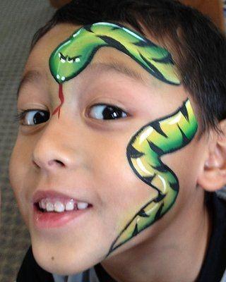 Snakes on a Face