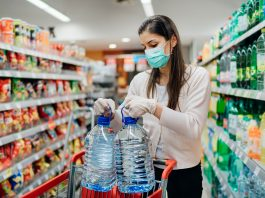 precautions for grocery shopping during coronavirus pandemic