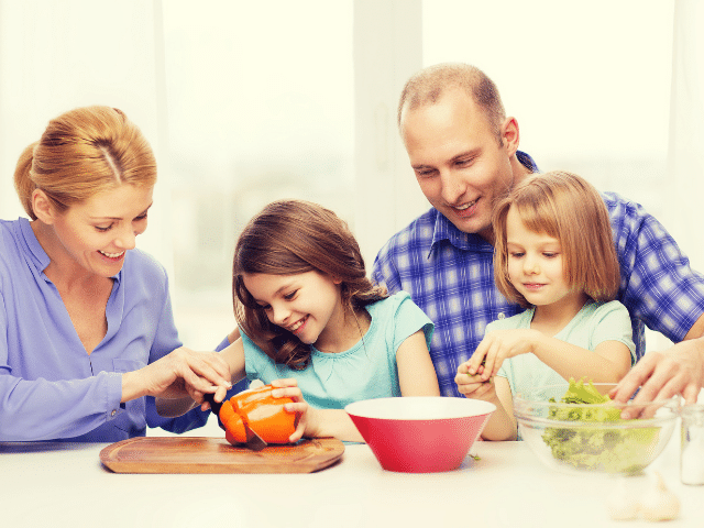 healthy family eating plan